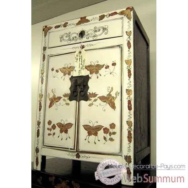 Armoire dans meuble chinois sur meuble decoration pays for Meuble chinois blanc