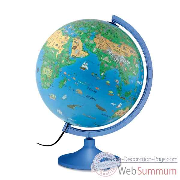 Globe lumineux diam.30cm Atmosphere -FAMILY SOLID