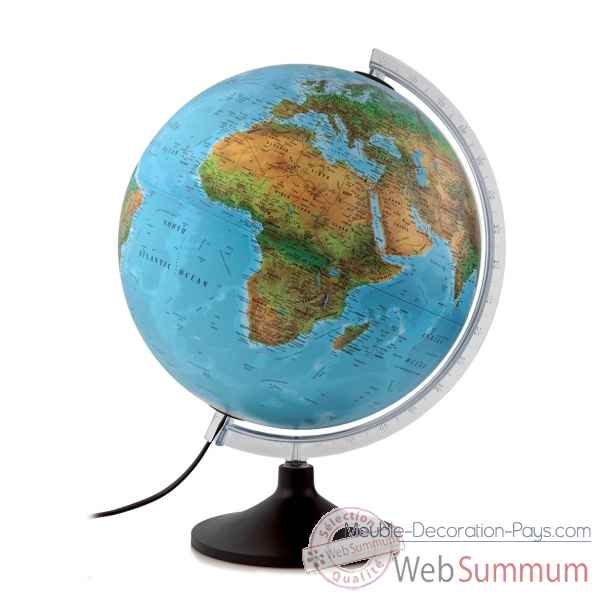 Globe lumineux diam.30cm Atmosphere SOLID B