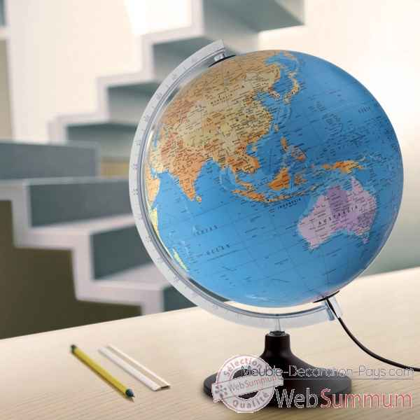 Globe lumineux diam.30cm Atmosphere SOLID P