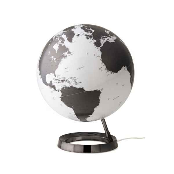 Globe lumineux light&colour metal charbon diam 30 cm Atmosphere