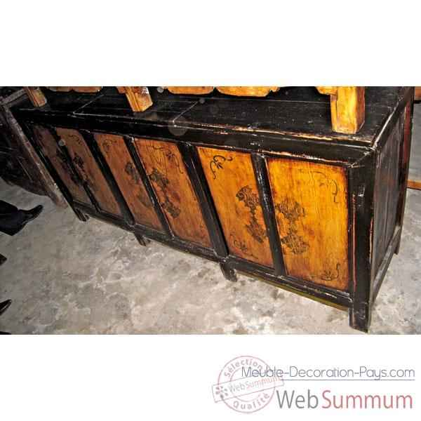 Video Buffet mongol 6 portes style Chine -C3020