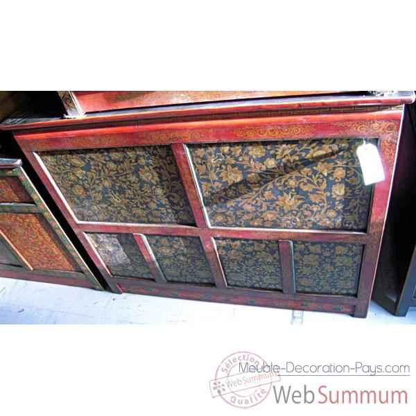 Buffet tibetain 6 portes style Chine -C0645