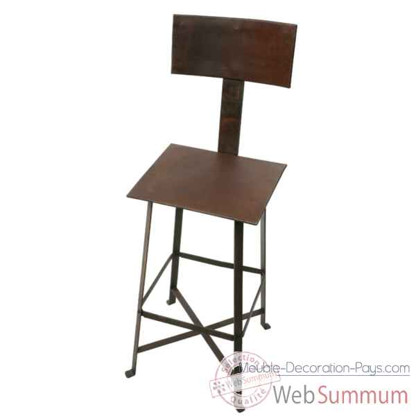 Etag re trous 4 tables bleue hindigo je55blu dans for Chaise a trou