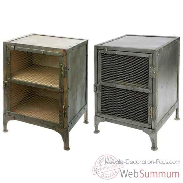 confiturier patine noire hindigo je61bla dans meuble indien. Black Bedroom Furniture Sets. Home Design Ideas