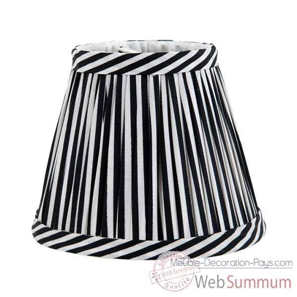 abat jour noir et blanc eichholtz lig dans accessoires. Black Bedroom Furniture Sets. Home Design Ideas