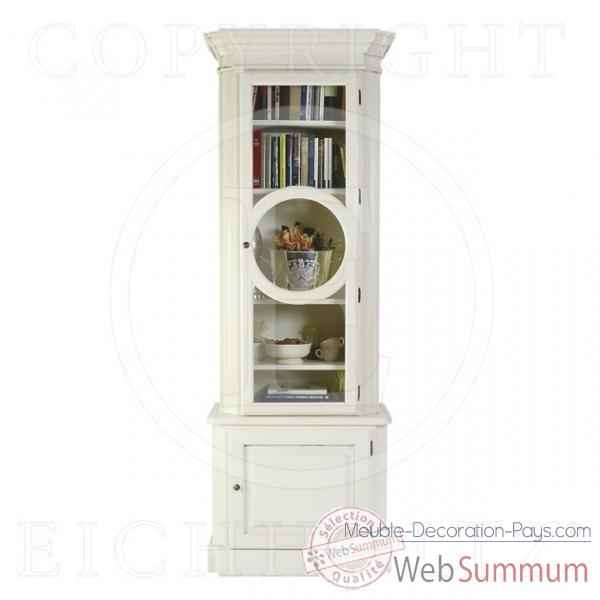 Eichholtz cabinet chamb ry right vieille finition blanc de meuble design holl - Meuble hollandais design ...