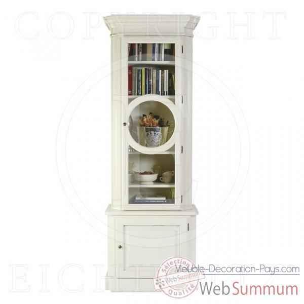 Eichholtz cabinet chamb ry right vieille finition blanc de meuble design holl - Meubles blancs vieillis ...