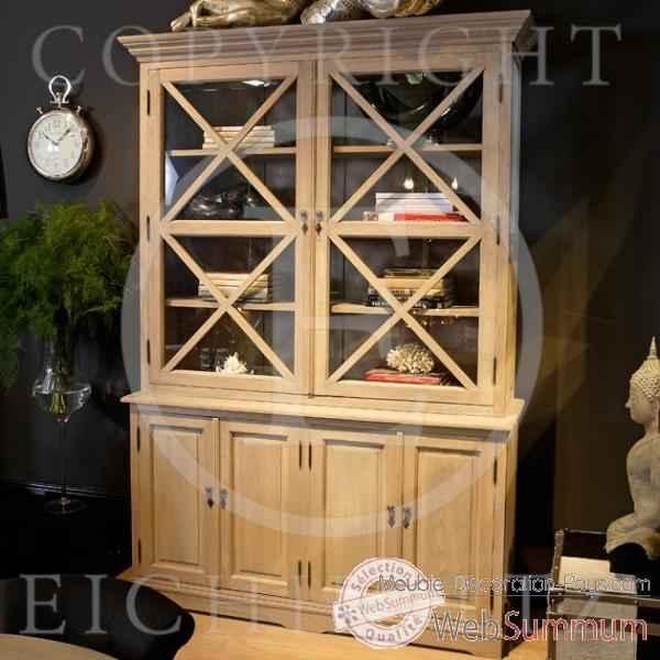 Eichholtz cabinet cross ch ne rustique dans cabinet sur for Meuble rustique montreal