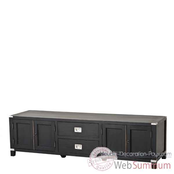 Cabinet tv military Eichholtz -08165