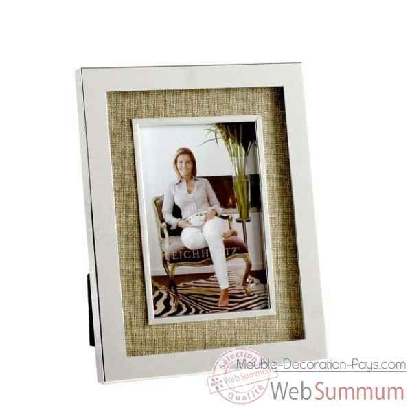 Eichholtz cadre doheny nickel et verre acc06186 dans cadre de meuble design - Meuble hollandais design ...