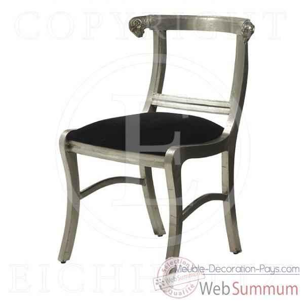 Eichholtz fauteuil ramhead vieil argent chr05971 de meuble design hollandais - Meuble hollandais design ...