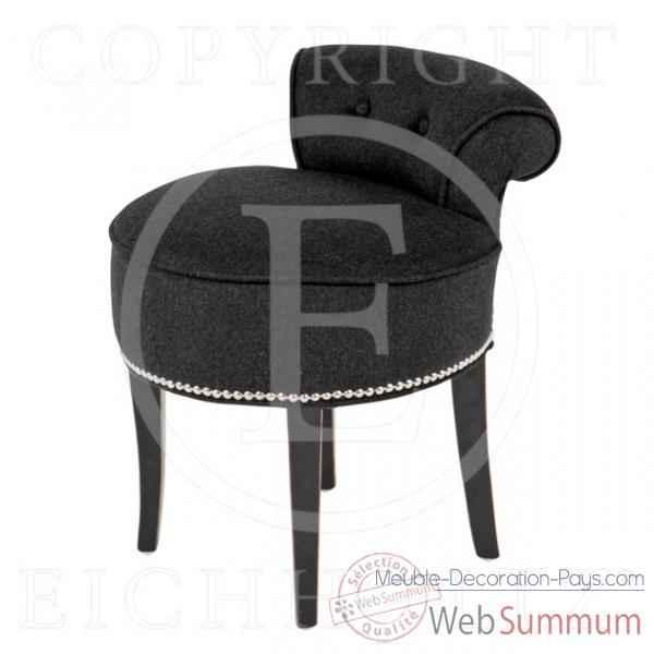 eichholtz fauteuil rochebrune lin blanc et blanc su dois de meuble design hollandais. Black Bedroom Furniture Sets. Home Design Ideas