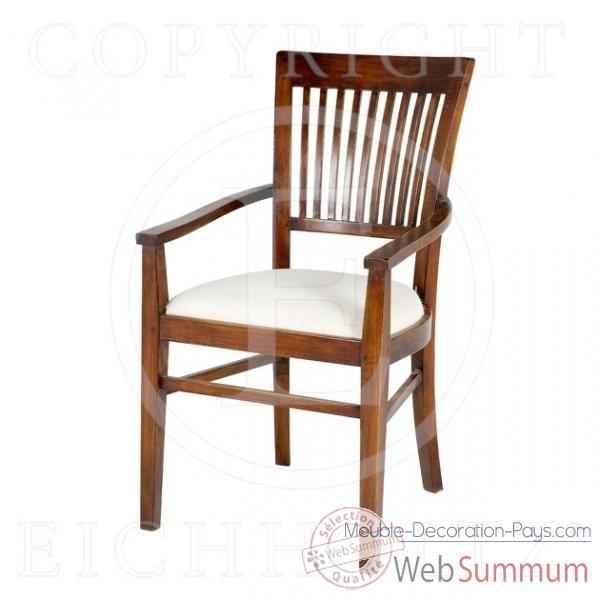 Eichholtz fauteuil thonon avec accoudoirs ch ne chr04138 de meuble design ho - Meuble hollandais design ...