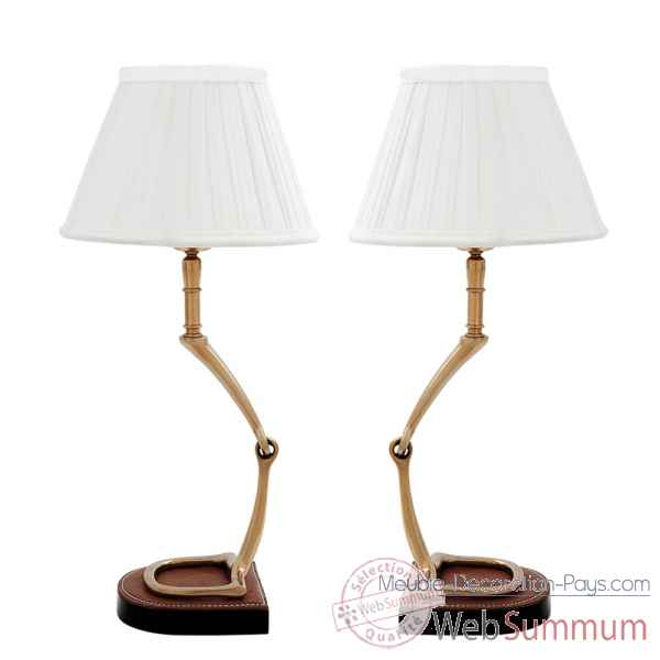 Lampe de table adorable set de 2 Eichholtz -07419