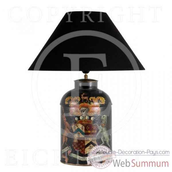Eichholtz lampe english heraldry metal -lig04675