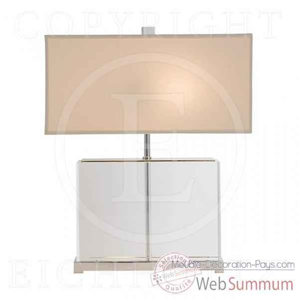 Eichholtz lampe warwick nickel et plexiglass lig05564 de meuble design holla - Meuble hollandais design ...