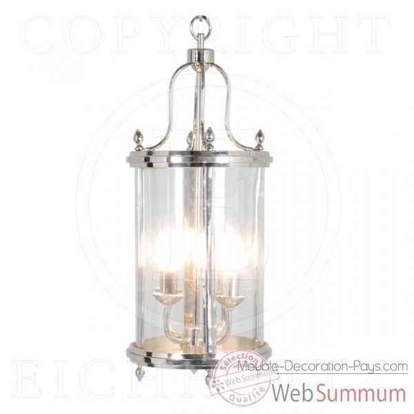 eichholtz lanterne sandhurst nickel lig05189 de meuble design hollandais. Black Bedroom Furniture Sets. Home Design Ideas