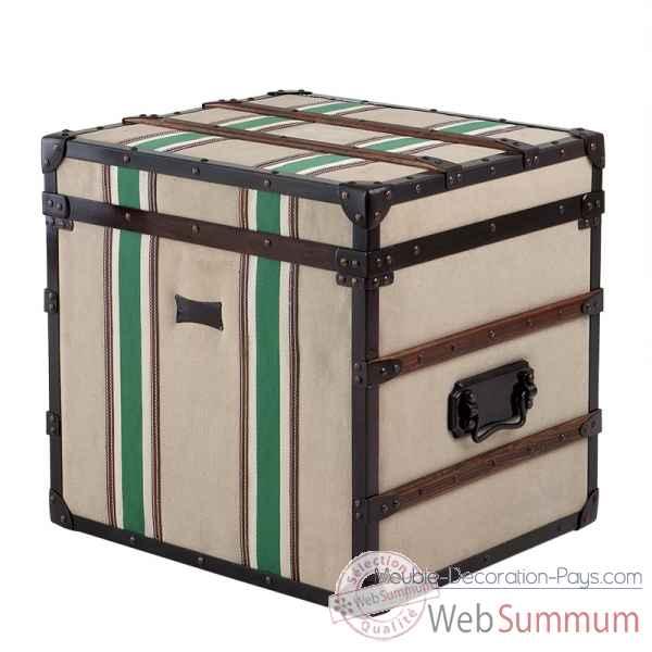 Malle de voyage glendale eichholtz smf07397 de meuble design hollandais - Meuble hollandais design ...