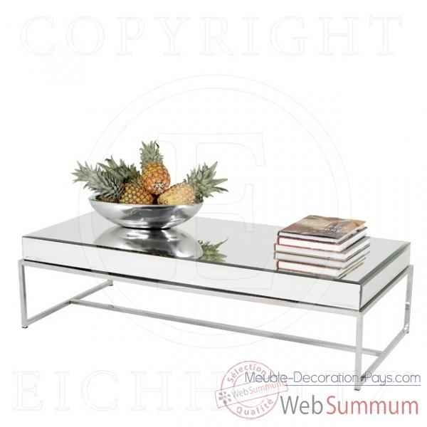 eichholtz table basse beverly hills acier inoxydableverre. Black Bedroom Furniture Sets. Home Design Ideas