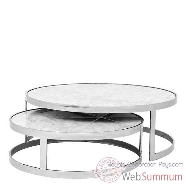Table a cafe fletcher lot de 2 Eichholtz -08738