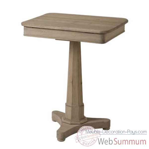 Eichholtz table connecticut ch ne rustique tbl06448 de meuble design hollandais - Meuble hollandais design ...