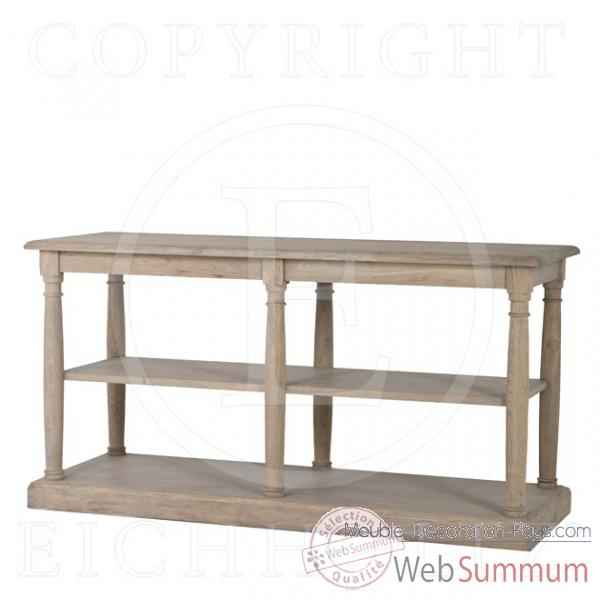 Eichholtz table console merserie ch ne rustique tbl04583 de meuble design ho - Meuble hollandais design ...