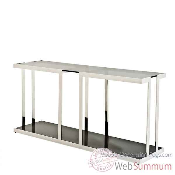 Eichholtz table basse catalina aluminium tbl05956 de meuble design hollandais - Meuble hollandais design ...