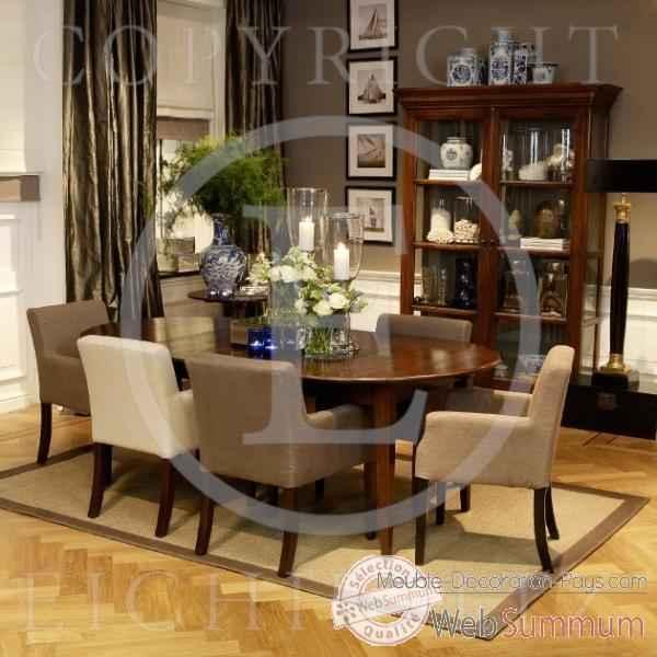 Eichholtz table manger provence ch ne tbl01570 de meuble design hollandais - Meuble hollandais design ...