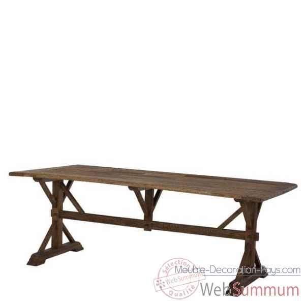 eichholtz table manger royal vieil orme tbl06479 de meuble design hollandais. Black Bedroom Furniture Sets. Home Design Ideas
