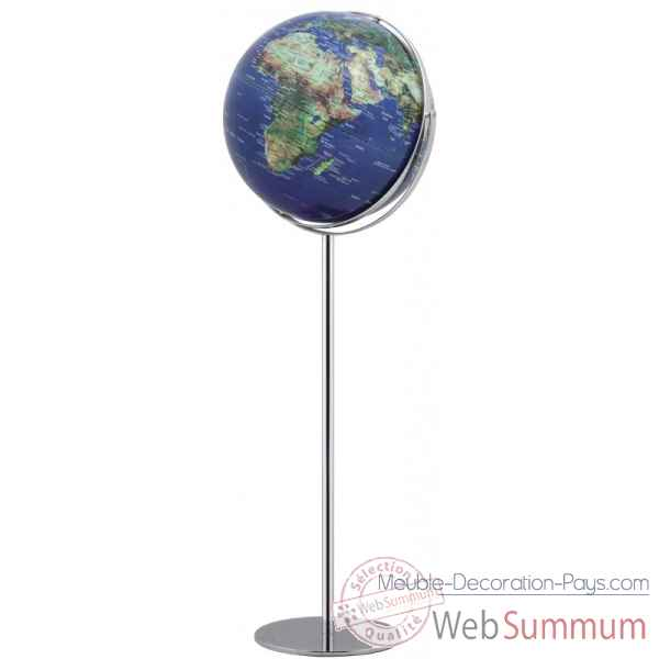 Globe sur pied apollo 17 physical no 2 emform -se-0779