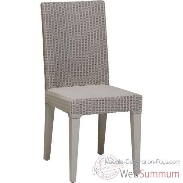 chaise bridget rotin loom teinte mastic d 39 origine sans coussin kok dans loom indoor. Black Bedroom Furniture Sets. Home Design Ideas