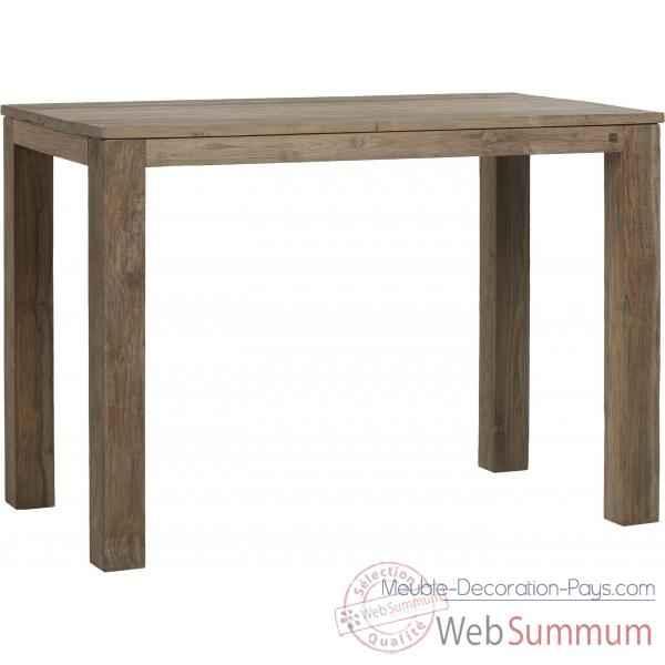 table haute drift teck recycl naturel bross kok m34n de meuble louisiane. Black Bedroom Furniture Sets. Home Design Ideas