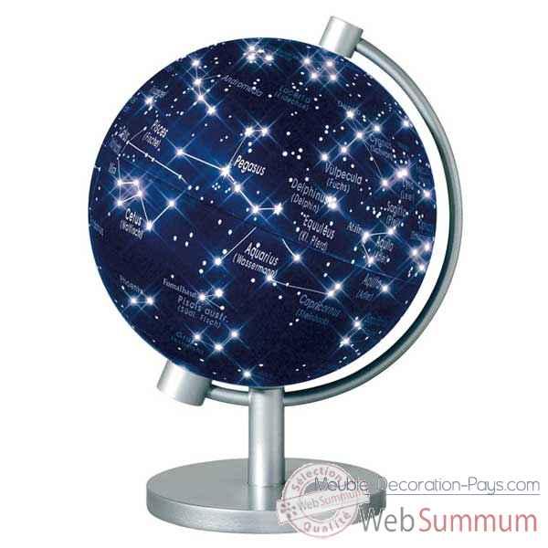 mini globe g ographique stellanova lumineux mod le en. Black Bedroom Furniture Sets. Home Design Ideas