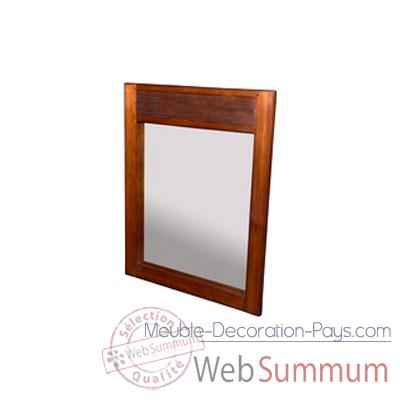 Miroir sans porte strie Meuble d'Indonesie -53972