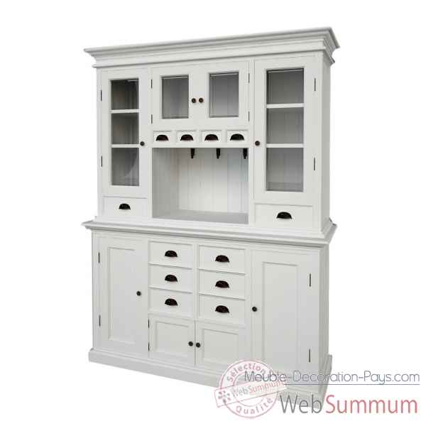Buffet dans meuble scandinave sur meuble decoration pays for Grand buffet de cuisine