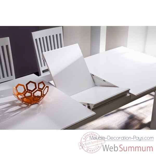 Table avec rallonges collection halifax Nova Solo -T766
