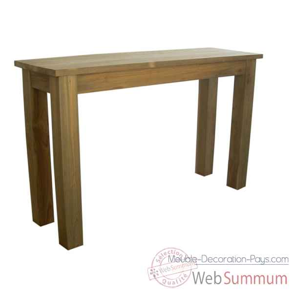 Table console d'interieur collection greenface Nova Solo -T713