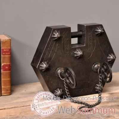 cadenas objet de curiosit dl091 dans d coration atypique sur meuble decoration pays. Black Bedroom Furniture Sets. Home Design Ideas