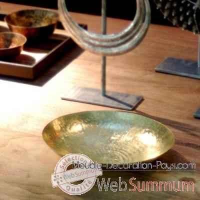 coupelle en cuivre objet de curiosit dans vases et coupes. Black Bedroom Furniture Sets. Home Design Ideas