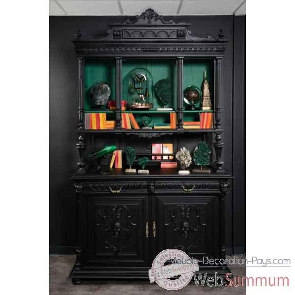 Meuble original dans objet original du monde sur meuble decoration pays - Buffet noir mat ...