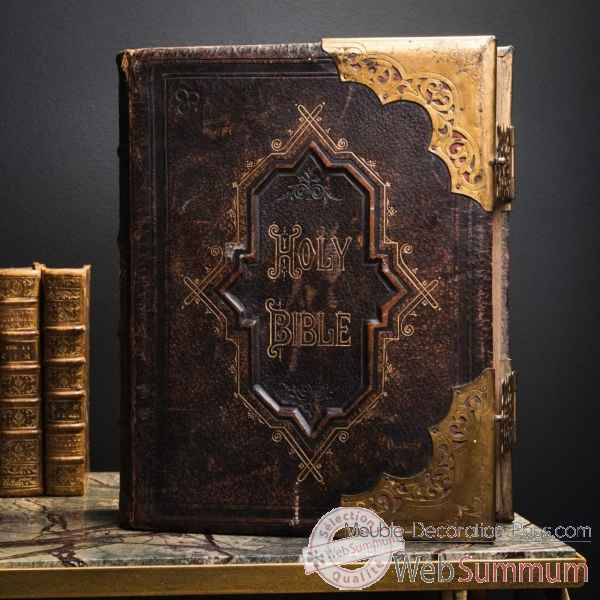 Holy bible 1875 illustree Objet de Curiosite -PUL194