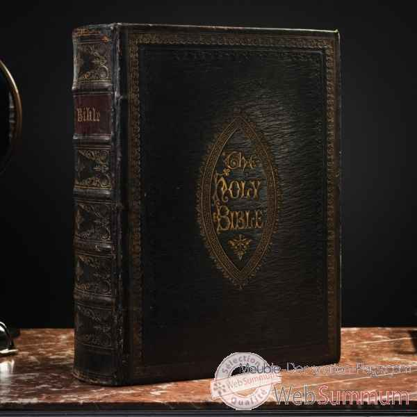 Holy bible (19eme) james hagger london Objet de Curiosite -PUL191