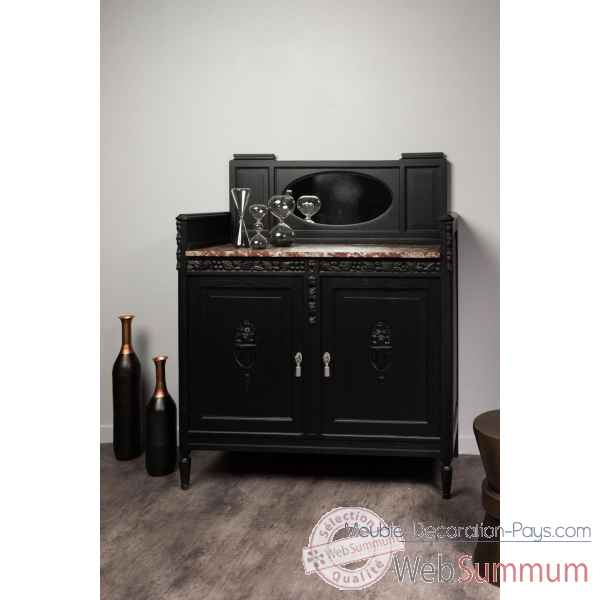 meuble coiffeuse fly finest console tiroir structure en panneau de particules revetement decor. Black Bedroom Furniture Sets. Home Design Ideas