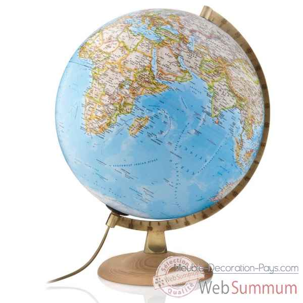 Globe gold classic national geographic lumineux