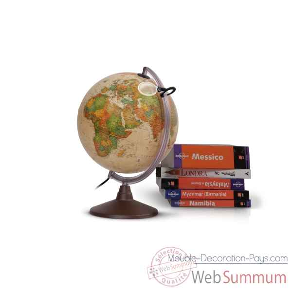 Globe lumineux marco polo 30 antique 30 cm (diametre) Sicjeg