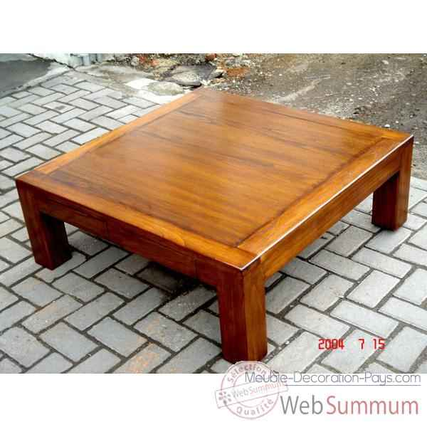 Table basse millenium 2 tiroirs Meuble d'Indonesie -54272