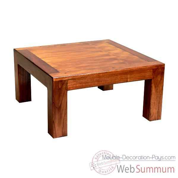 Table basse fabrique en Indonesie Meuble d'Indonesie -54291