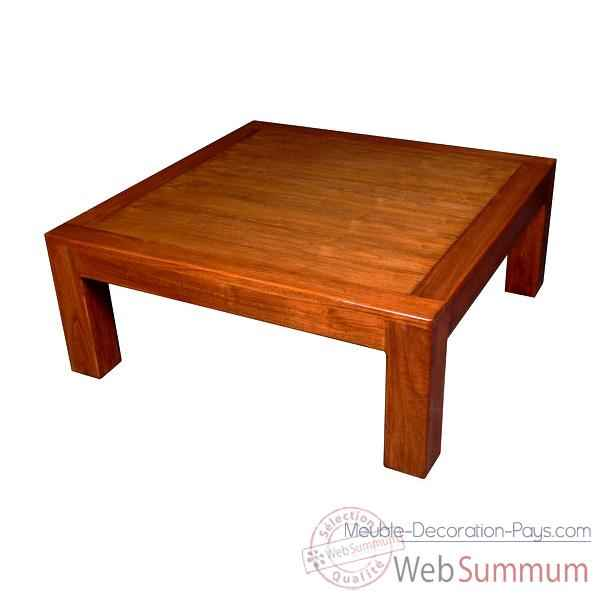 Table basse fabrique en Indonesie Meuble d'Indonesie -54292