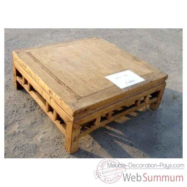 Table basse style Chine -C0668